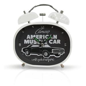 71028454_Relogio-de-Mesa-Metal-Round-GM-American-Muscle-Car-Preto-Branco
