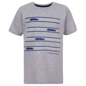 11468_Camiseta-Infantil-Road-Camaro-Cinza