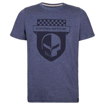 11392_Camiseta-Masculina-Skull-Shield-Corvette-Azul-Marinho