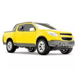 1145AM_Miniatura-de-Carro-Pick-Up-S10-Rally-Amarelo