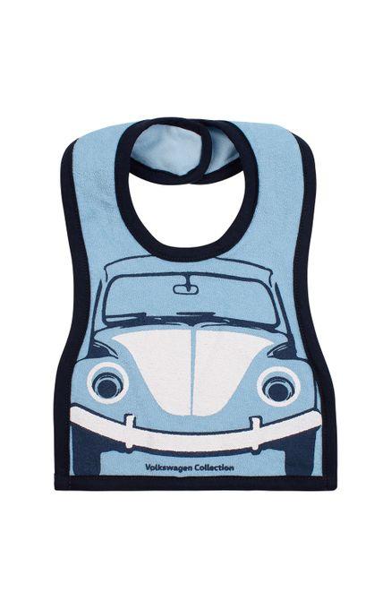 12840_Babador-Smile-Volkswagen-Fusca-Infantil-Feminino-Azul
