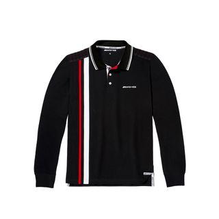 B66957490_Camisa-Polo-AMG-Listras-Manga-Longa-Masculina-Mercedes-Benz-Preto