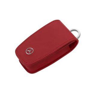 B66958410_Capa-de-Chave-Couro-Bovino-Mercedes-Benz-Vermelho