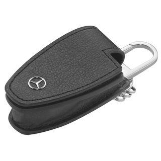 B66958140_Porta-chave-Couro-Mercedes-Benz-Preto