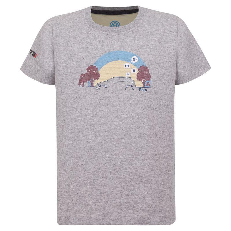 12250_Camiseta-Play-Infantil-Novo-Polo-Volkswagen-Cinza-mescla-claro