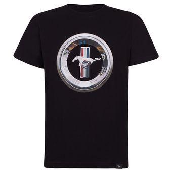 46101_Camiseta-Medallion-Masculina-Mustang-Ford-Preto