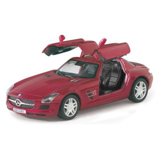KT5349D-VM_Miniatura-de-carro-SLS-AMG-Mercedes-Benz-Vermelho
