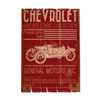 85028150_Placa-de-parede-em-madeira-Jalopy-vintage-cars-collection-Gm-Madeira