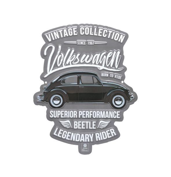 13101_Placa-de-Parede-em-Metal-Recorte-Vintage-Fusca-Volkswagen-Prata