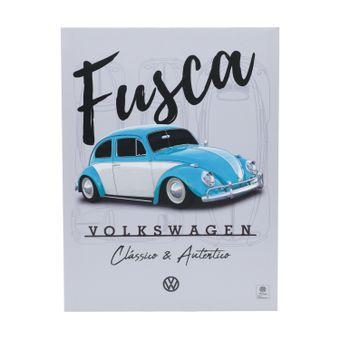 13121_Quadro-em-Tela-Authentic-FD-Fusca-Volkswagen-Cinza