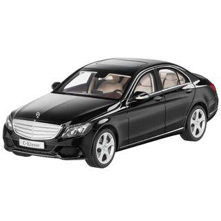 B66960255_Miniatura-de-carro-Classe-C-preto-obsidiana-tam-118-Unissex-Mercedes-Benz