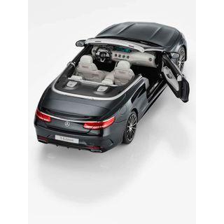 B66960354_2_Miniatura-de-carro-S-Class-Cabriolet-preto-Unissex-Mercedes-Benz