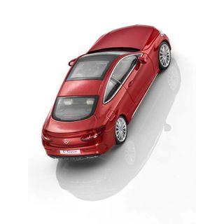 B66960531_2_Miniatura-de-carro-Classe-C-Coupe-vermelho-143-Unissex-Mercedes-Benz