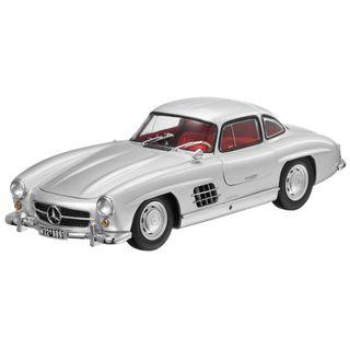 B66040379_Miniatura-de-carro-300SL-54-57-prata-118-Unissex-Mercedes-Benz