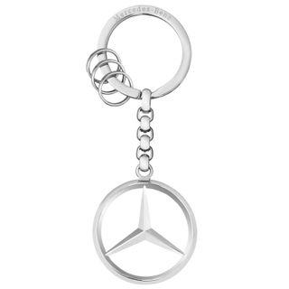 B66953834_Chaveiro-Estrela-inoxidavel-prata-Unissex-Mercedes-Benz