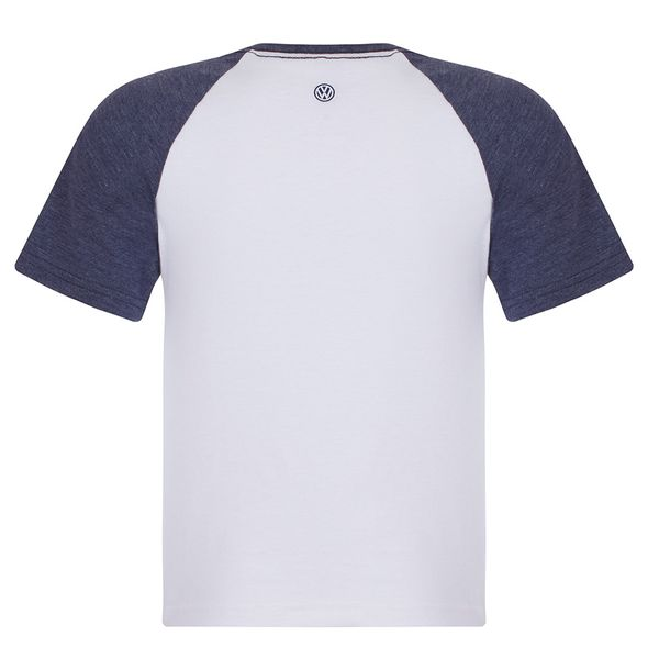 12792_2_Camiseta-Raglan-Volkswagen-Classic-Infantil-Branco-Azul-Mescla