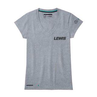 B67995407_Camiseta-Cinza-N44-Curta-Feminina-Mercedes-Benz