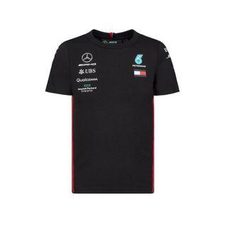 20902_Camiseta-Oficial-Equipe-F1-2019-Infantil-Mercedes-Benz-Preto