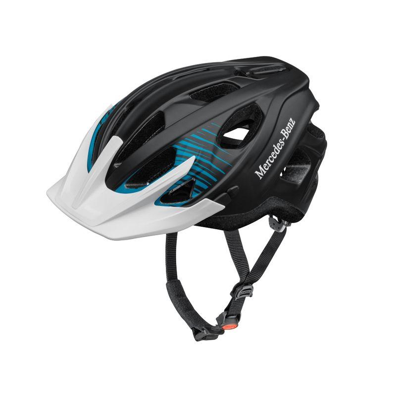 B66450055_Capacete-Bicicleta-Plastico-azul-branco-preto-Mercedes-Benz