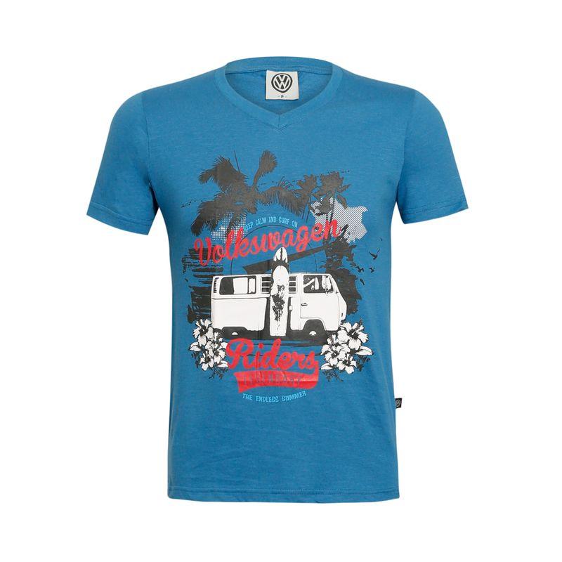 VWCMTVKM1505_Camiseta-Front-legendary-riders-vwcmtvkm1505-Masculina-Volkswagen-Azul-petroleo