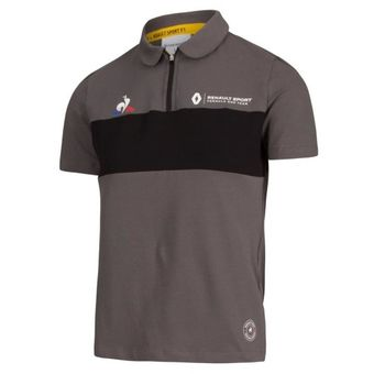 7711786051_Camisa-Polo-Oficial-Equipe-Tech-2018-Masculina-F1-Renault-Cinza