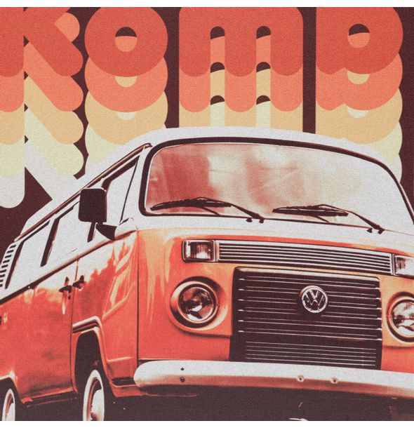 13160_2_Quadro-em-Tela-Vintage-And-Authentic-30x40-Cm-Kombi-Volkswagen-Vermelho