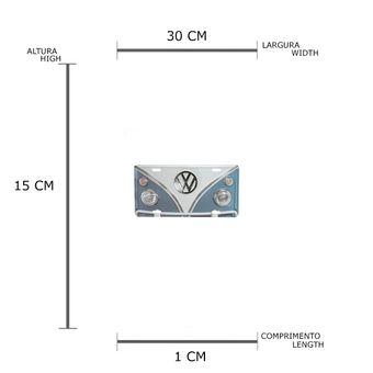 13158_2_Placa-Carro-Aluminio-15x30-Cm-C-Kombi-Volkswagen-Azul--Branco