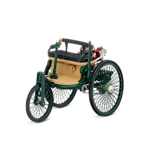 B66040464_Miniatura-de-carro-Motorizado-Patentado-Benz-1886-Mercedes-Benz-Verde