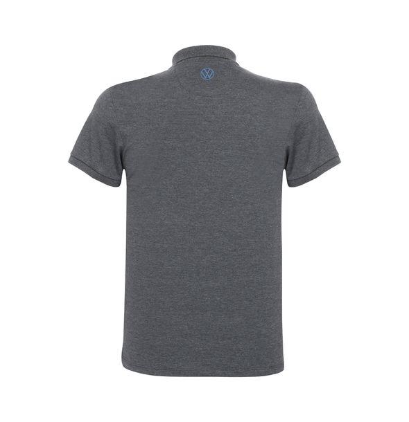 13310_5_Camisa-Polo-Castle-Masculina-Classic-Volkswagen-Cinza-Mescla-Escuro