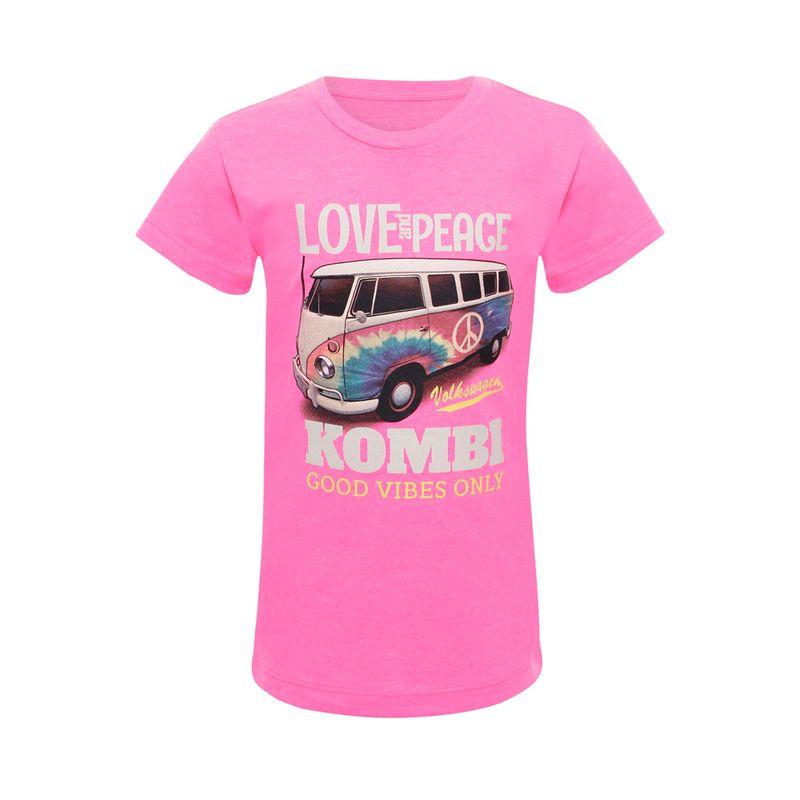 81028_Camiseta-Love-Infantil-Kombi-Volkswagen-Rosa