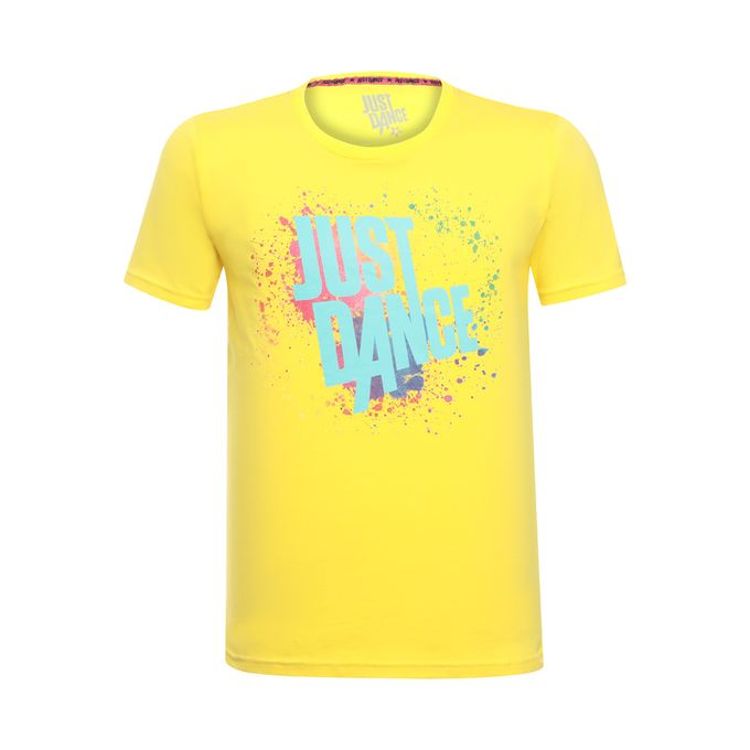 90079_Camiseta-Splash-Unissex-Just-Dance-Ubisoft-Amarelo