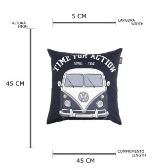 13138_2_Capa-de-Almofada-Time-For-Action-Kombi-Volkswagen-Preto