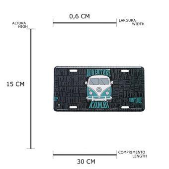 13141_2_Placa-Carro-Aluminio-Lowers-Kombi-Volkswagen-Azul