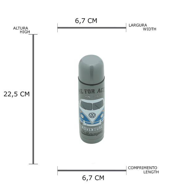 81711_5_Garrafa-Aluminio-Termica-Adventure-Kombi-Volkswagen-Cinza