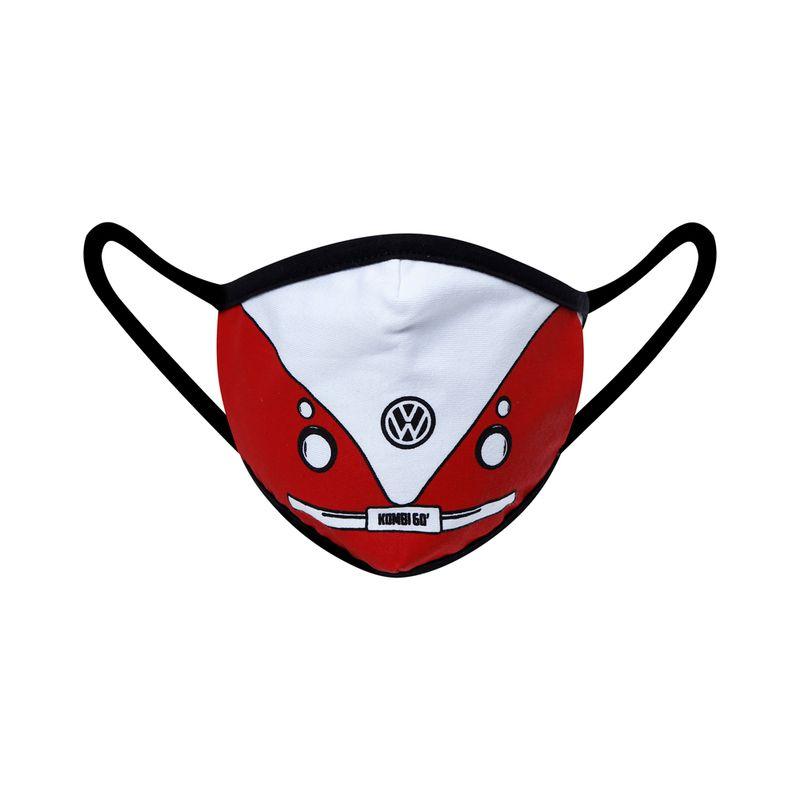 81066_Mascara-de-Protecao-60-Vintage-Kit-5-Pecas-Unissex-Kombi-Volkswagen-Vermelho