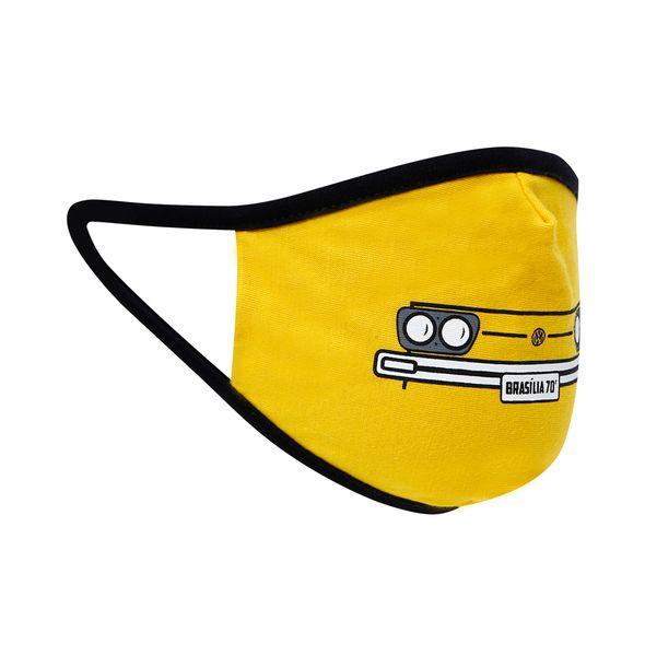 81070_2_Mascara-de-Protecao-70-Vintage-Kit-5-Pecas-Unissex-Brasilia-Volkswagen-Amarelo