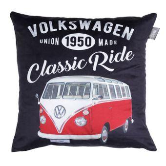 13153_Capa-de-Almofada-Classic-Ride-45x45-Cm-13153-Kombi-Volkswagen-Preto